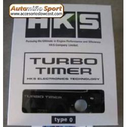TURBO TIMER HKS TYPE-0 LCD ROJO.
