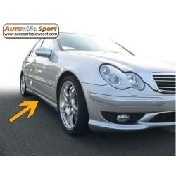 TALONERAS LATERALES AMG MERCEDES W203 (00-07)
