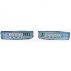 INTERMITENTES BMW E39, 95-03 CRISTAL CLARO/CROMADO- LED