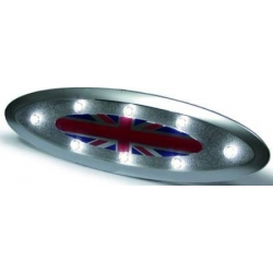 LUZ INTERIOR LED MINI 06-11. COLOR PLATA.