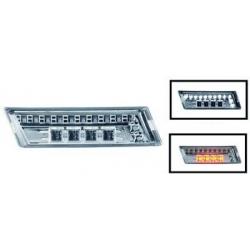 INTERMITENTES LATERALES LED E36, 90-96- CRISTAL CLARO/CROMADO.