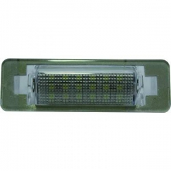 LUZ DE LA MATRICULA MINI, 02-08- LED