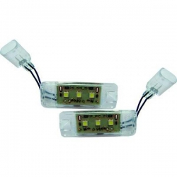 LUZ DE LA MATRICULA LED PARA VW GOLF 6 08-, SCIROCCO 08-