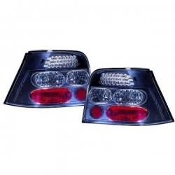 PILOTOS TRAS. LED GOLF 4, 97-03 LIMOUSINE- CRISTAL CLARO- NEGRO