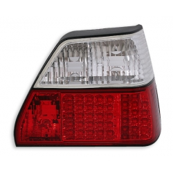 PILOTOS TRASEROS LED GOLF 2 II LED 83-91. COLOR ROJO-BLANCO
