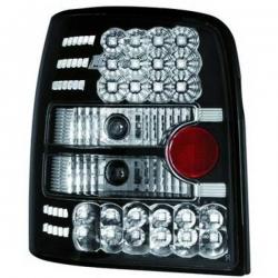PILOTOS TRAS. LED PASSAT, 96-00 - CRISTAL CLARO/NEGRO- VARIANT