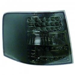 PILOTOS TRAS. LED A6, 97-04- CRISTAL CLARO/NEGRO/AVANT