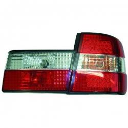 PILOTOS TRAS. E34, 88-95- LED- 4 PUERTAS- CRISTAL CLARO ROJO-BLANCO