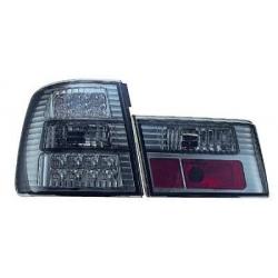 PILOTOS TRAS. E34, 88-95- LED- 4 PUERTAS- CRISTAL CLARO NEGRO