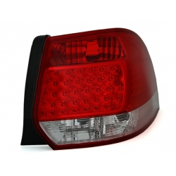 PILOTOS TRASEROS LED VW GOLF 5 6 VARIANT07++. CRISTAL CLARO-ROJO-BLANCO
