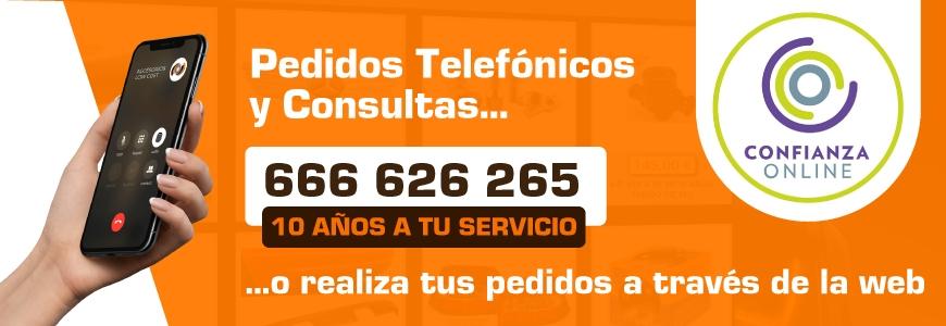 Realiza tus pedidos por Whatsapp, Teléfono y a través de la web en Auto Accesorios LowCost